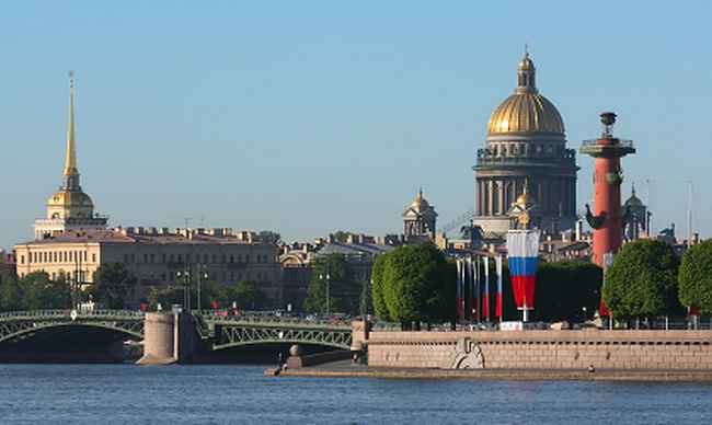St. Petersburg, Russia Private Jet Charter